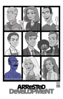 Arrested Development Season 4! by EadgeArt
