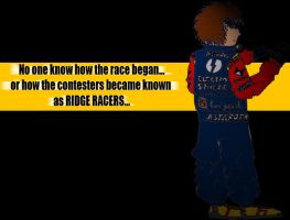 Me as Ridge Racer by Hotrod89