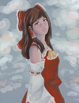 Reimu Hakurei by Ayamon