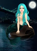 Gaga's Mermaid Yuyi Commission by madam-marla