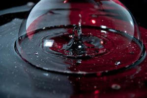 Water Drop Bubble by TheBevski