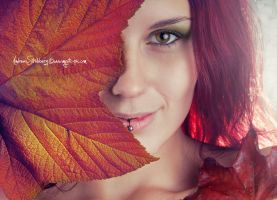 Autumn Smile by Stridsberg