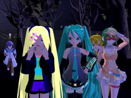 MMD and Vocaloid - Slender (Trashed Project) by MMDCharizard