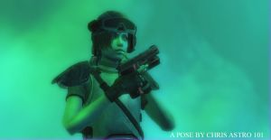 Medic Rebecca Chambers by ChrisAstro101