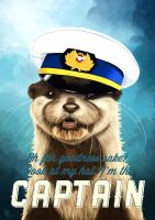 Captain Otter by tillieke