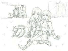 After the fighting by fantasywar2