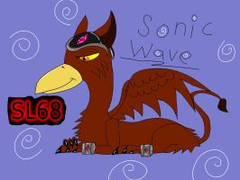 Gift-Sonic Wave! by Animatronic-Skrillex