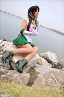 Sailor Jupiter - By the Water by shadowhearts