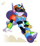 Mega Man gender swap - Turbo Woman by MattMoylan