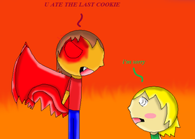 U Ate The Last Cookie by caitlinthehedgehog34