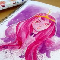 Princess Bubblegum by MZ09