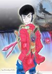 Lupin and the Rainbow Falls by Dorothy-of-Oz