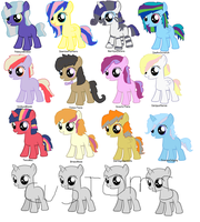 Pony Shipping Adopts - OPEN by YummyCupcake436