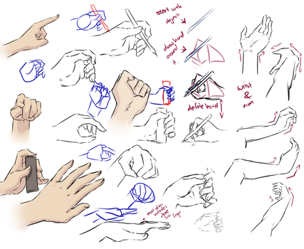More hand tips by moni158