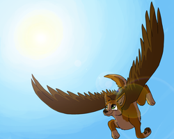 Flying by CursedFire