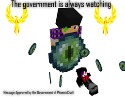 Government knows all! by Teethdude