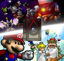 Super Paper Mario Fanart Entry by Arbok-X
