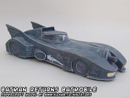papercraft Batmobile by ninjatoespapercraft