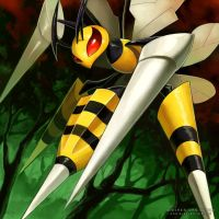 MEGA BEEDRILL by EvilApple513