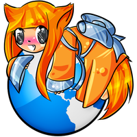 Firefox-Tan Icons - Large by xfe