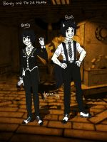 Bendy and Boris Concept/ Bendy and the ink machine by Miu-Chan16