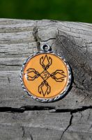 design with ohm in the center by artbylink