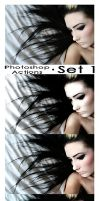 Photoshop Actions - Pack 1 by Lune-Tutorials