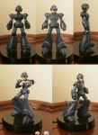 3D printed MegaMan X action figure by PYOS3D