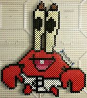 Baby Mr. Krabs by PerlerPixie