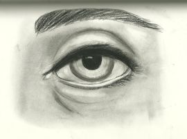 Realistic Eye by Aozame32