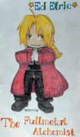 Edward Elric again by TheArtfulFox
