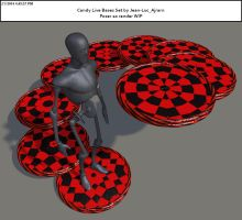 CheckerBlackRed by Kreat3D