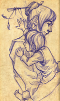 Loving fathers sure are rare by Calefacto