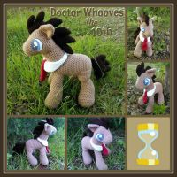 Doctor Whooves (10th) - My Little Pony Plushies by VelvetKey