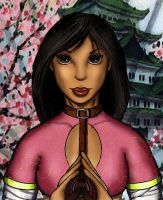 Wu the Lotus Blossom by jschielke