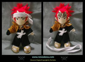 Commission_Abarai Renji Bankai by renealexa-plushie