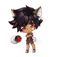 Chibi Comm for Mufifins by SushiGoddess