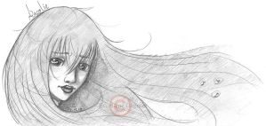 Ancolie - Hair in the wind by Velyne