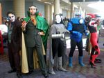 MegaCon DC Villains by Sonic1002
