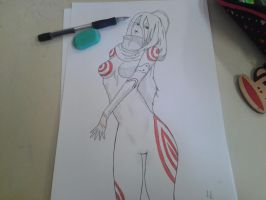 Shiro DeadMan Wonderland by darthteti
