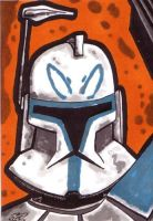 Rex Sketch card by kevbrett