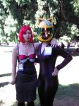 pokemon pinup and celty day one kumoricon by Galasdian