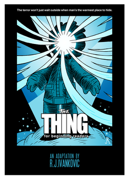 The Thing (for beginning readers) 00 by DrFaustusAU