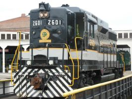 Southern Geep 2601 on Spencer Turntable by rlkitterman