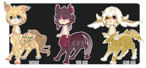 Foodtaur Adopts Auction [CLOSED] by JeanaWei