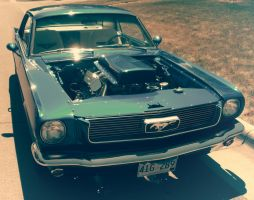 Classic Mustang Muscle by Grabacr96