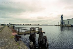 An empty harbour by TLO-Photography