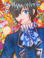 Candy and Ciel by manu-chann