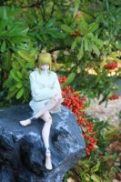 Misa on Rock #3 by here-and-faraway