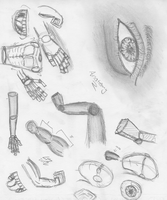 Anatomy Practice 2 by Mysterious-Master-X